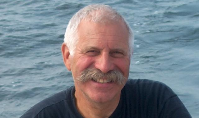 Henk Teulings at sea