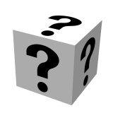 IMG: Question mark cube