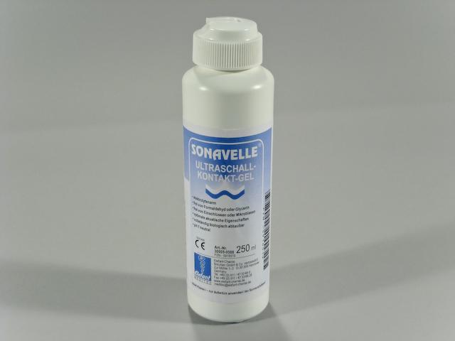 Sonavelle ® ultrasound transmission gel