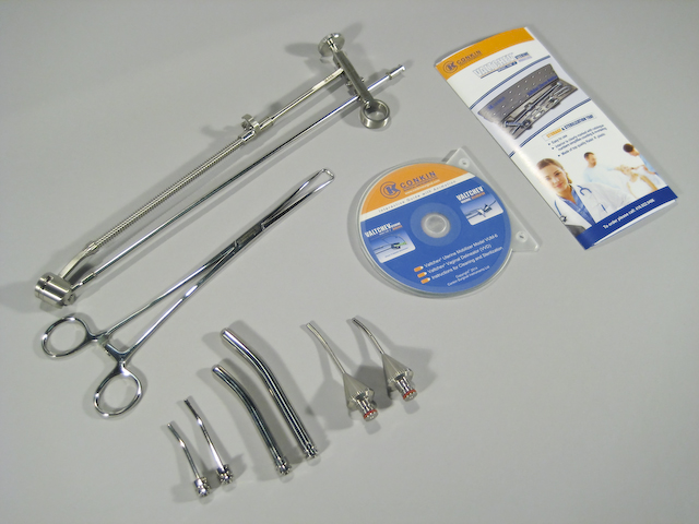Valtchev ® Uterine Mobilizer model 6 complete set