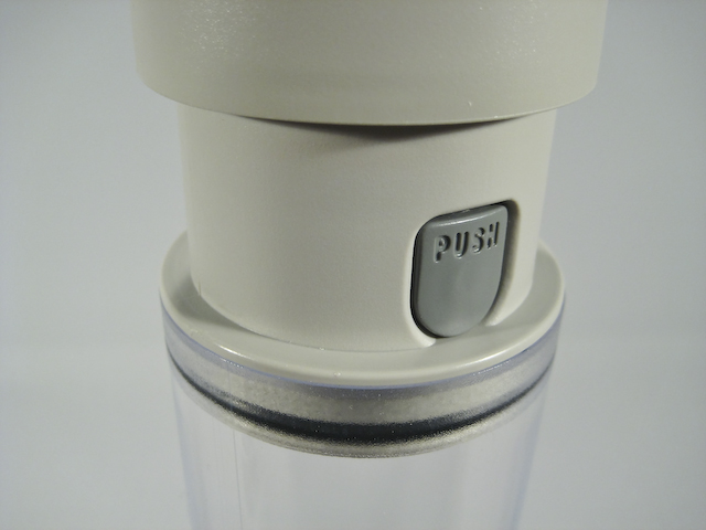 Erec-Tech ® IVP-600 vacuum release knob on the side of the pump